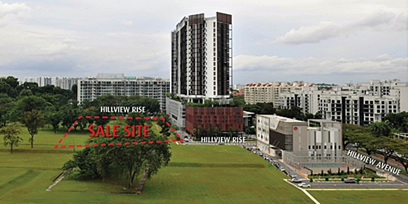 midwood-condo-Hong-Leong-Acquires-Hillview-Rise-Site-For-460m-singapore
